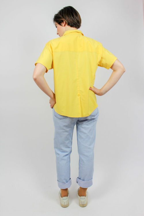 Bluse gelb Secondhand