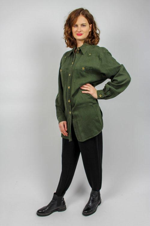 Bluse grün Gerry Weber Secondhand