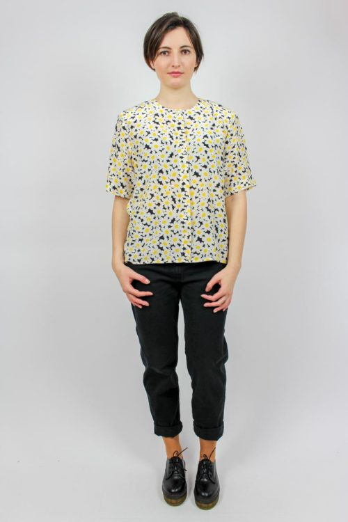 Bluse kurzarm Secondhand