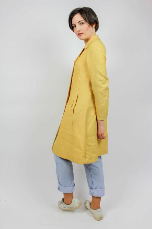Jacke lang gelb