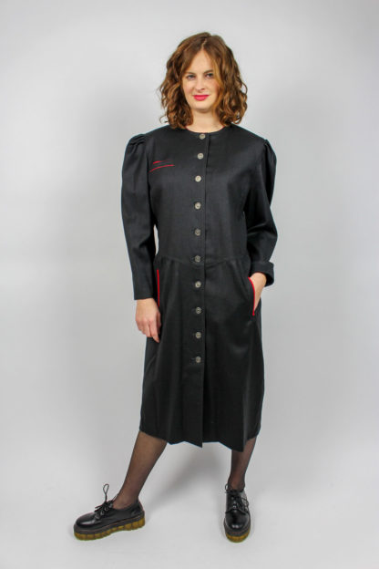 Kleid Midi schwarz Secondhand