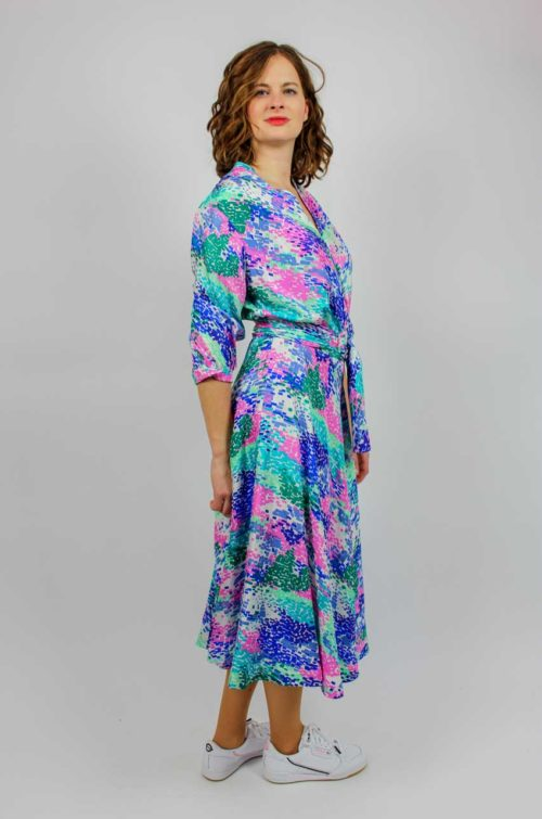 Kleid blau Secondhand