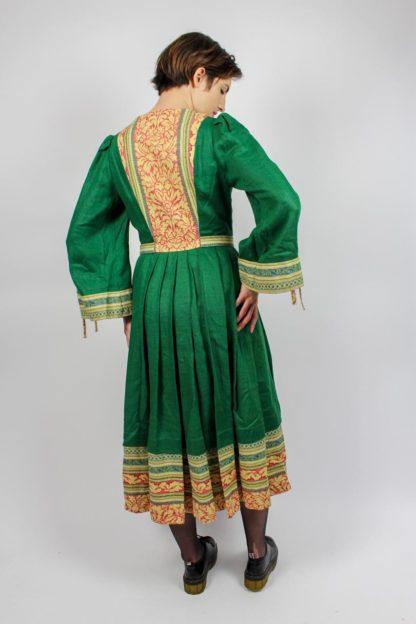 Kleid midi grün