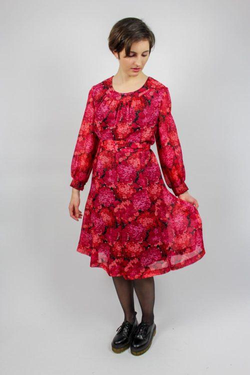 Kleid rosa midi