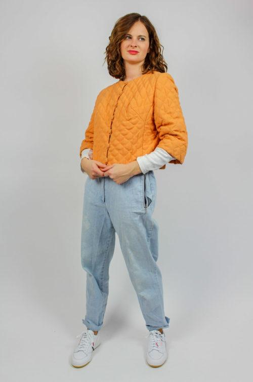 Kurzjacke orange