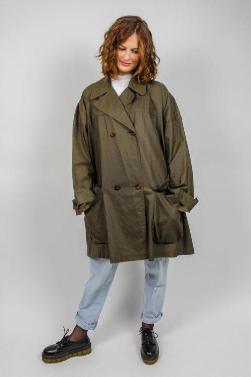 Lange Jacke braun