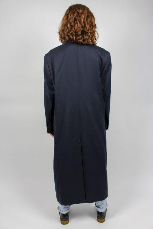 Mantel Maxi blau