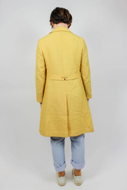 Mantel gelb Secondhand