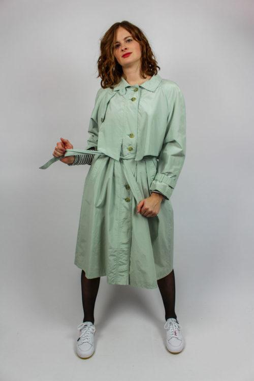 Mantel grün Koller