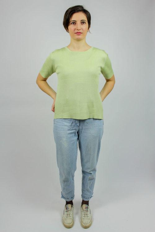 Pullover grün Secondhand