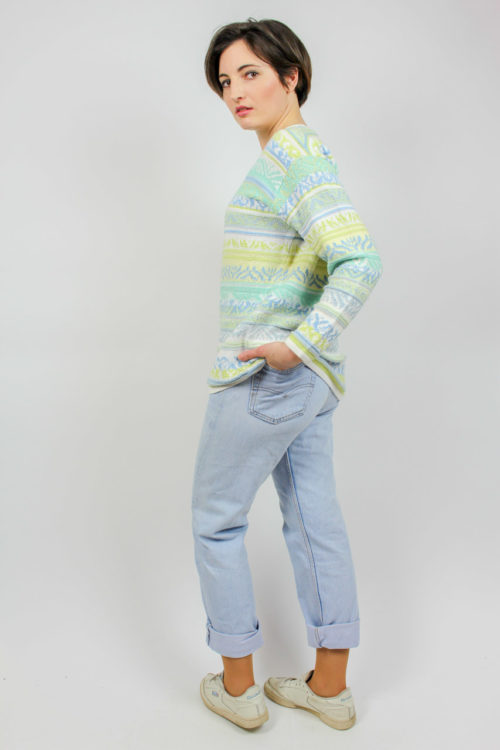 Pullover mintfarben