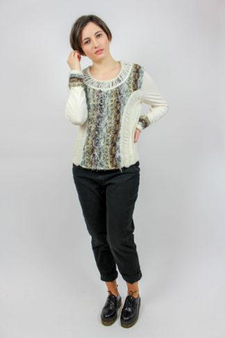 Pullover weiß Secondhand