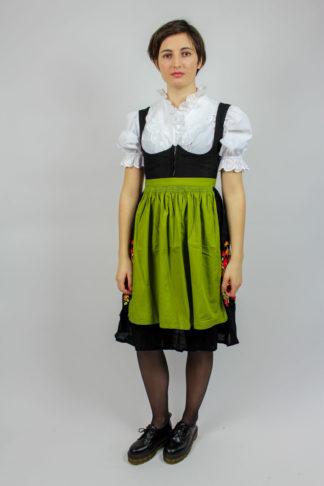 Vintage Dirndl schwarz