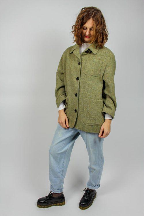 Vintage Jacke grün