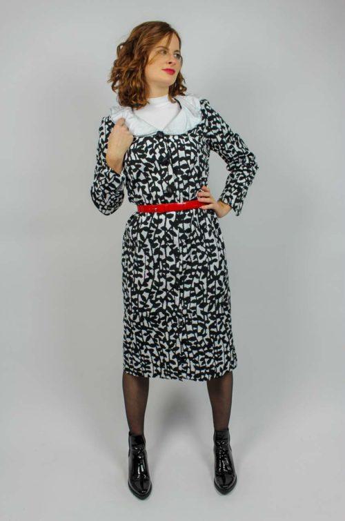 Vintage Kleid Midilänge