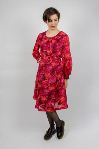 Vintage Kleid pink