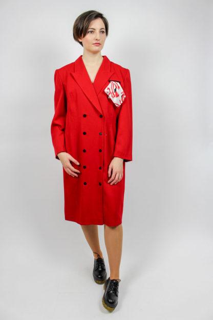 Vintage Kleid rot