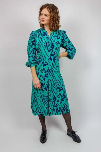 Vintage Kleid türkis