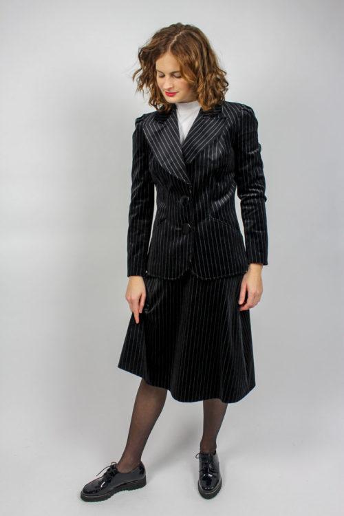 Vintage Kostüm schwarz