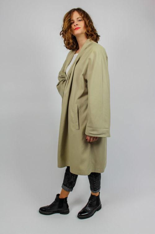 Vintage Mantel beige