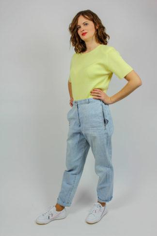 Vintage Pullover kurzarm