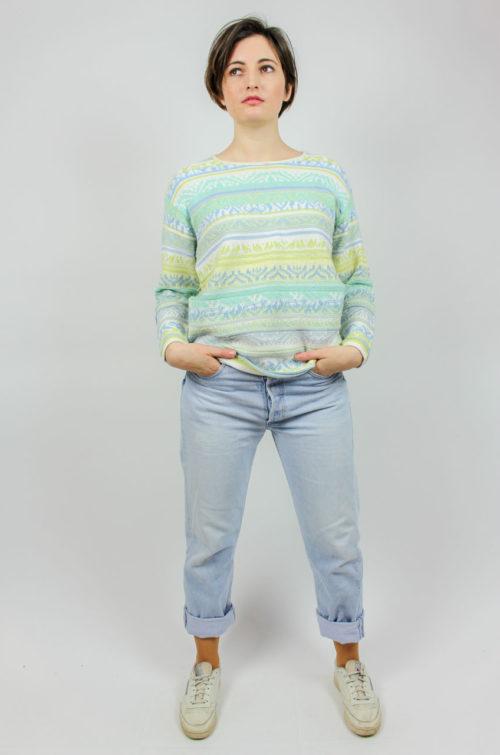 Vintage Pullover langarma