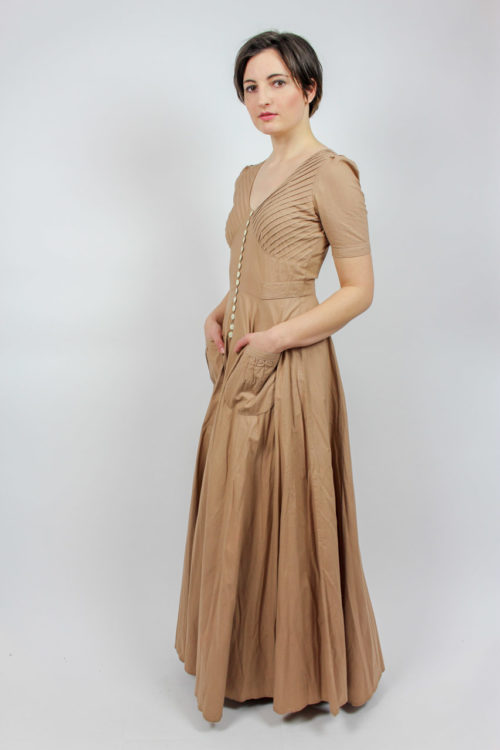 beiges Abendkleid Betty Barclay