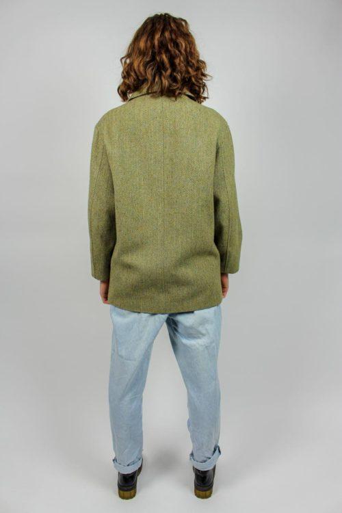 grüne Jacke Secondhand
