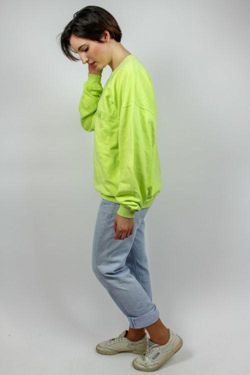 grüner Pulli