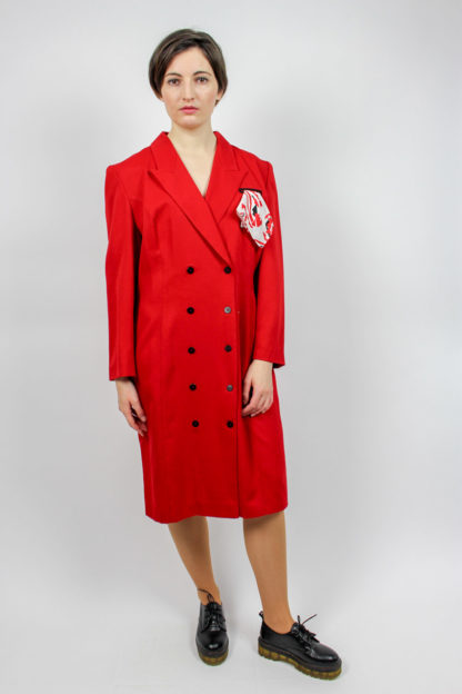rotes Kleid Secondhand