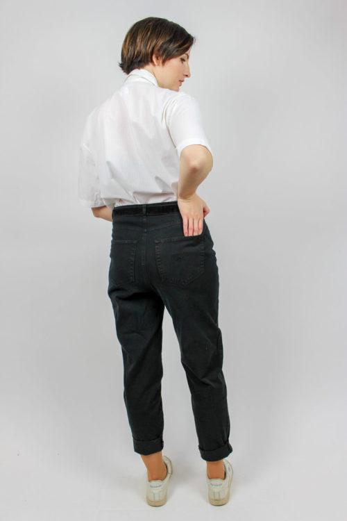 weiße Bluse Secondhand
