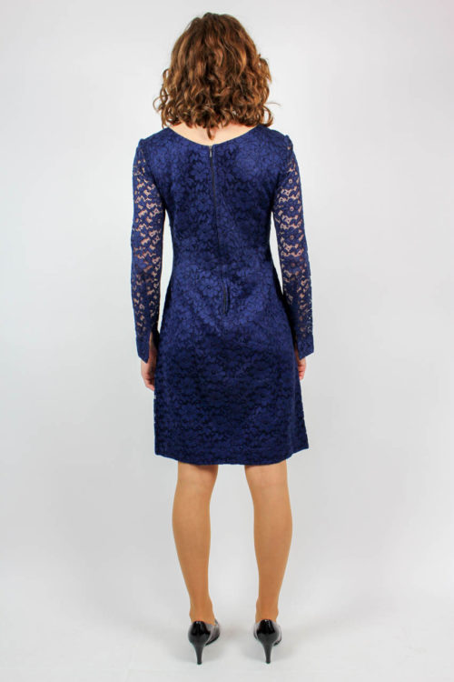 Kleid blau Secondhand