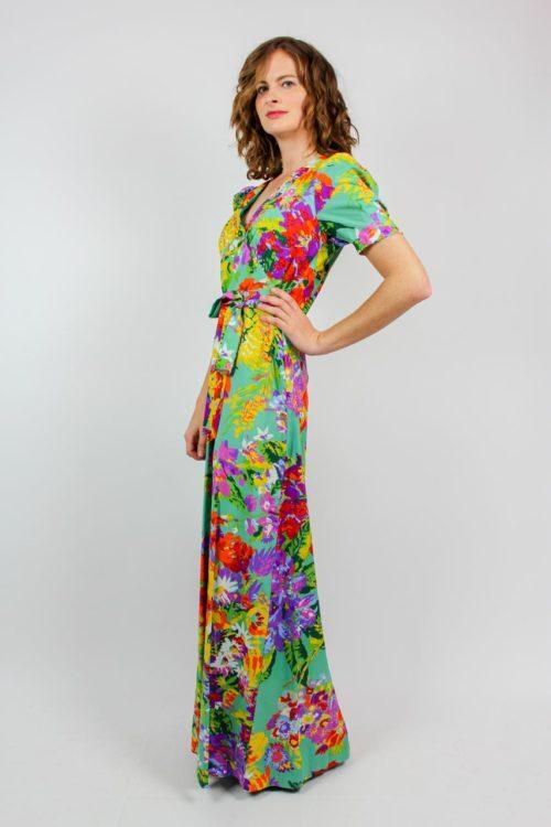 Kleid florales Muster