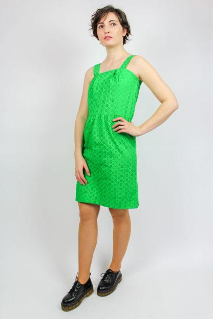 Kleid grün Secondhand