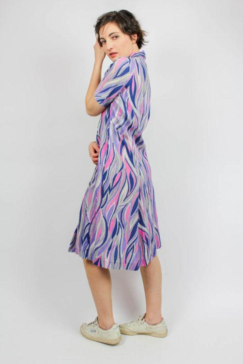 Kleid kurzarm bunt