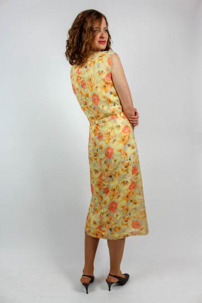 Kleid kurzarm floral