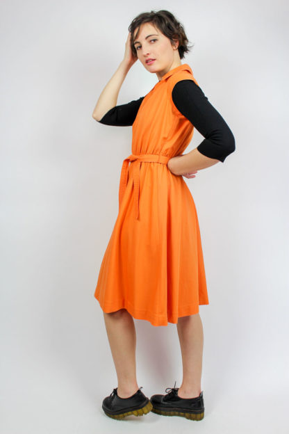 Kleid orange