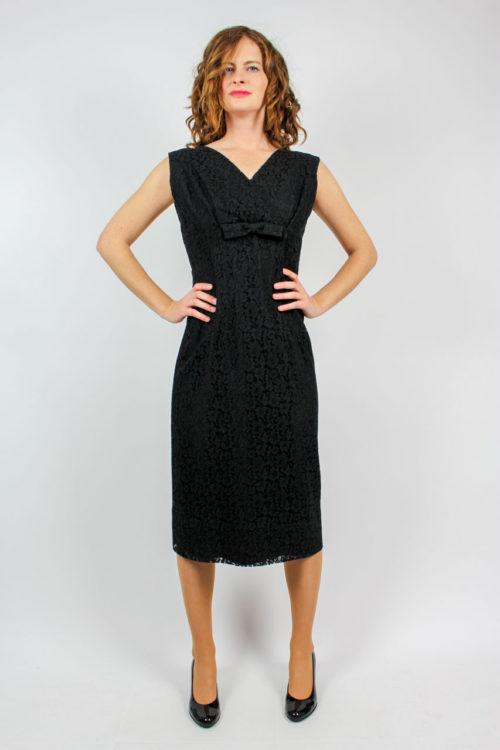 Kleid schwarz ärmellos