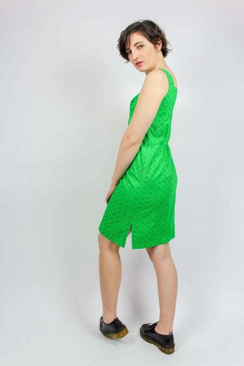 Midikleid grün