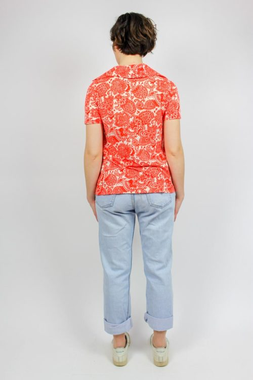 Shirt rot weiß