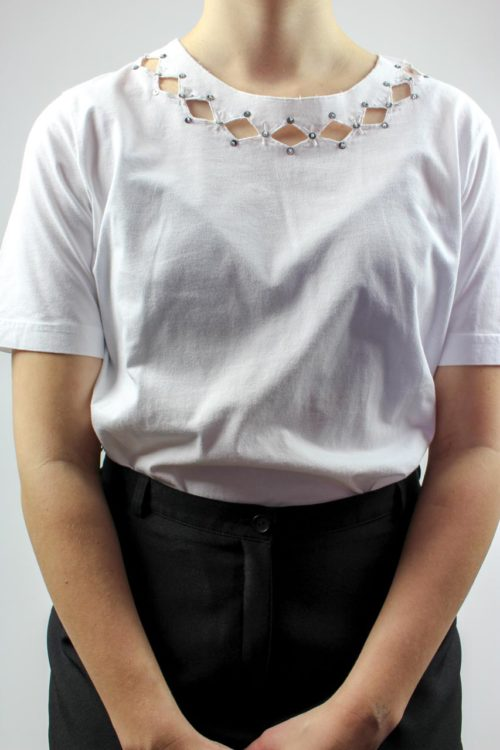 Shirt weiß Cutout