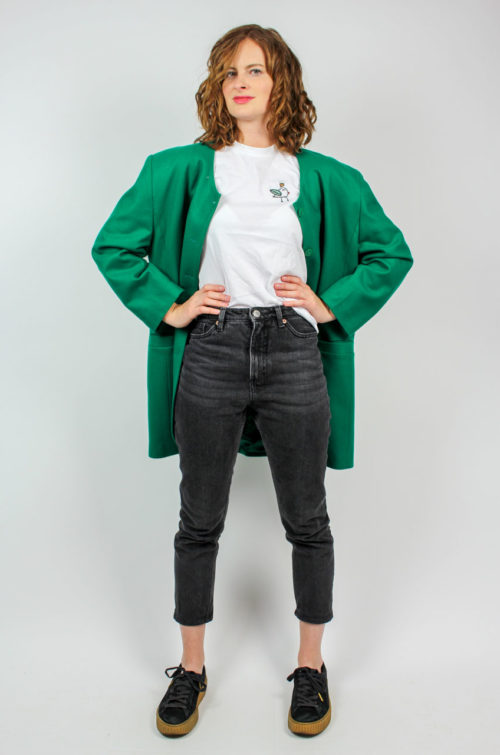 Vintage Blazer grün