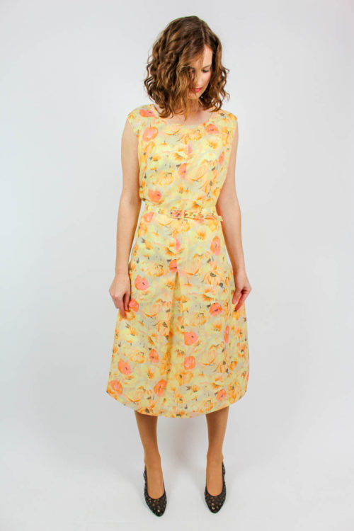 Vintage Blumenkleid
