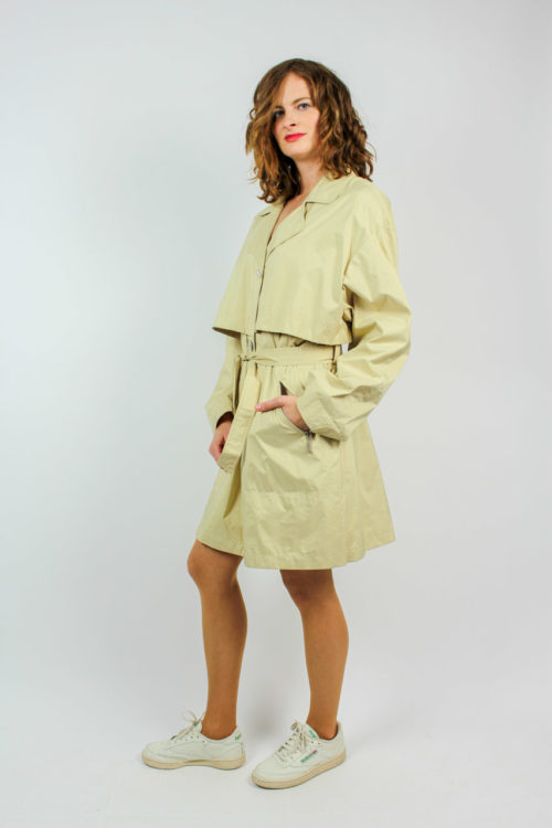 Vintage Jacke beige