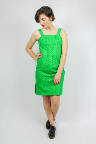 Vintage Kleid ärmellos