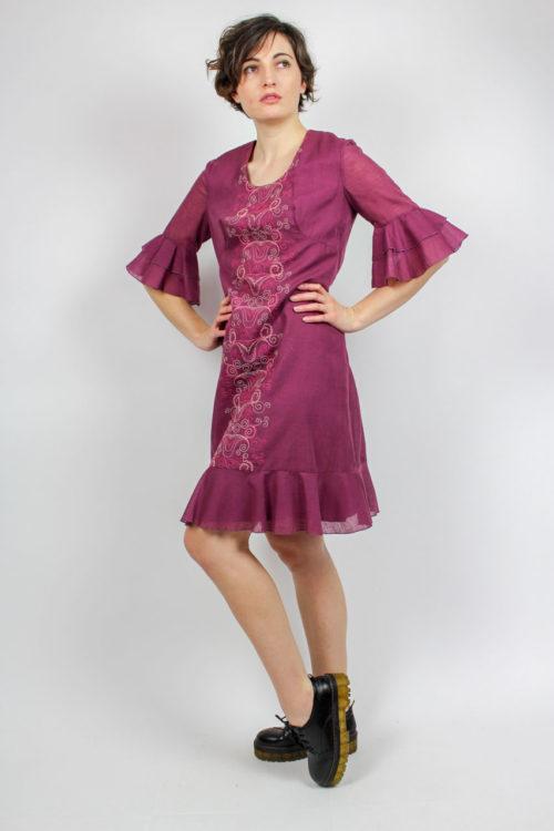 Vintage Kleid lila