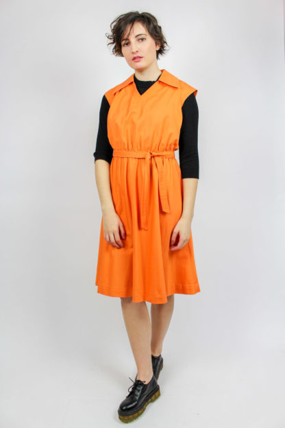 Vintage Kleid orange