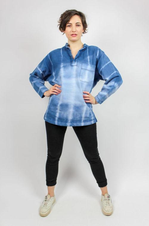 Vintage Pullover blau