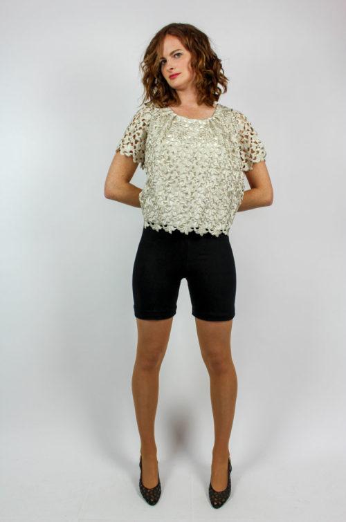 Vintage Shirt Lochmuster