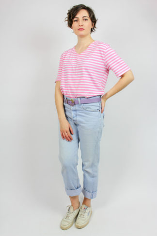 Vintage Shirt gestreift